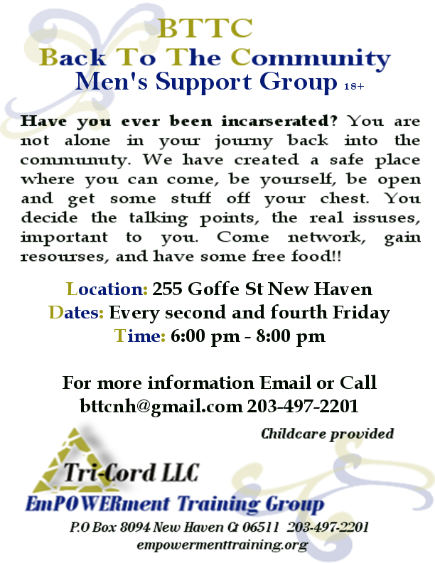 Back to the Community Support Group